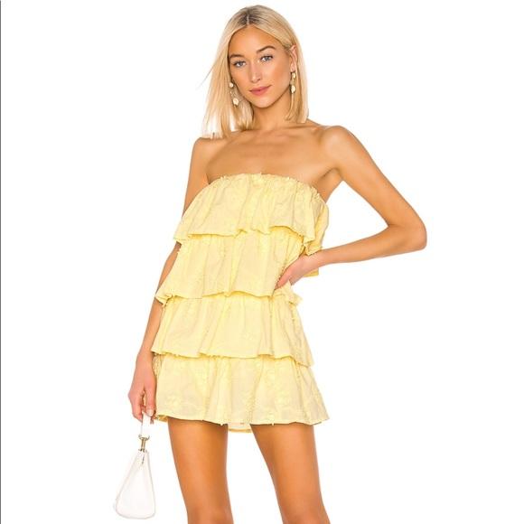 Tularosa Dresses & Skirts - Tularosa Finley Dress In Pastel Yellow